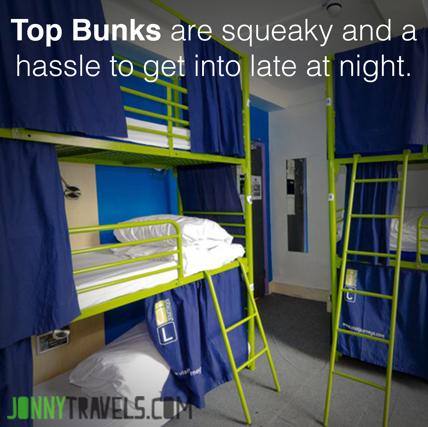 9 things to consider when selecting your hostel dorm bed